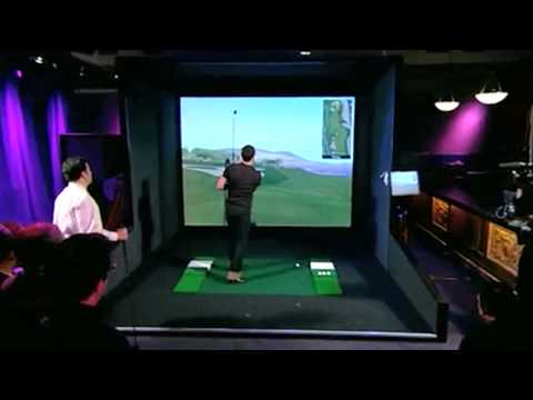 Jimmy Kimmel & Justin Timberlake Play Indoor Golf