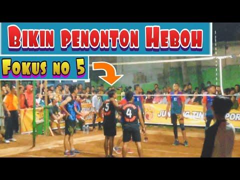 Pantas Penonton HERAN Wong MAINYA BEGini !! | Volly Ball Plastik Seru | Voli Plastik Agung Chingu