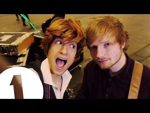 Greg James Does Nicki Minaj, Ed Sheeran, Taylor Swift and Meghan Trainor