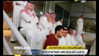 عبد الله بن مساعد يرفض التطرق لموضوع تجنيس السومة