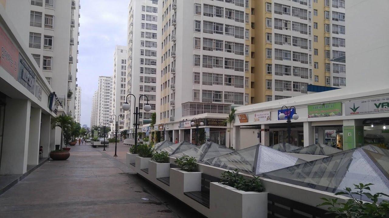 Căn hộ penthouse Sky Garden Phú Mỹ Hưng
