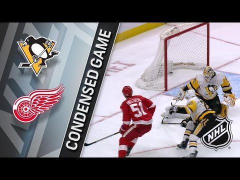 Pittsburgh Penguins vs Detroit Red Wings – Dec. 31, 2017 | Game Highlights | NHL 2017/18.Обзор матча