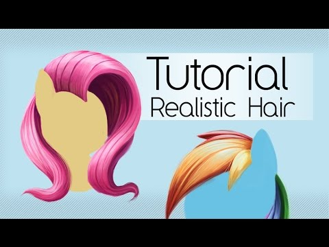 mlp hair styling tutorial cartoony realistic hair tsitra360 tutorial 5121
