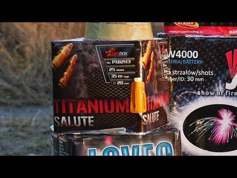 LEGALE POLEN SALUT BATTERIE Piromax Titanium Salute