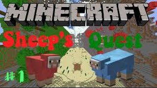 Minecraft Mini Game | Sheep Quest | Bölüm #1 | Kap Kap Kap!