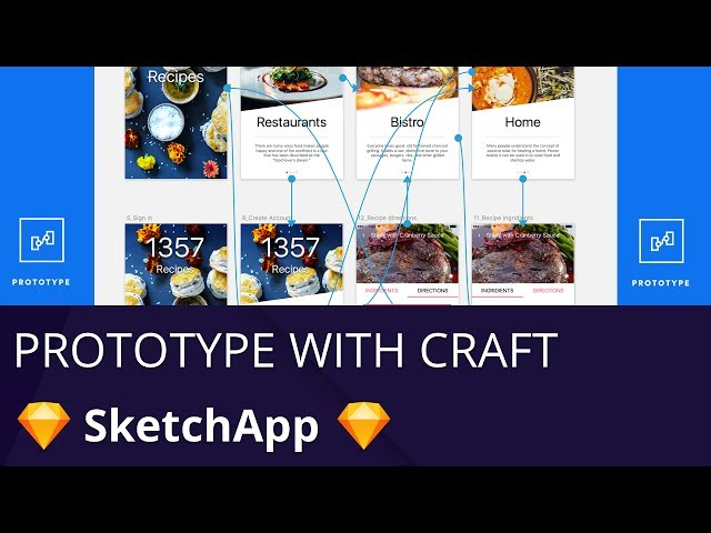 Sketch App -- Prototype your UI with new plugin from invision craft
