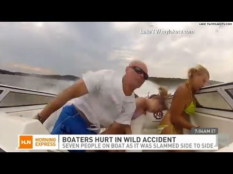 Wild boat accident caught on tape youtube wild boat accident caught on tape sciox Gallery