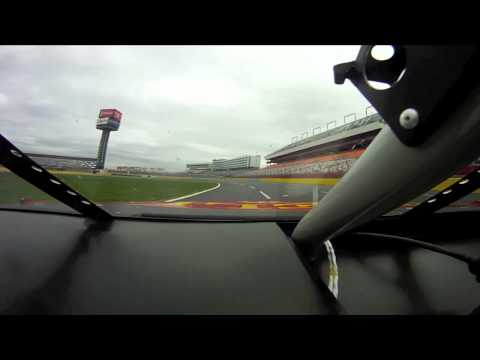 Charlotte Motor Speedway onboard ARCA car