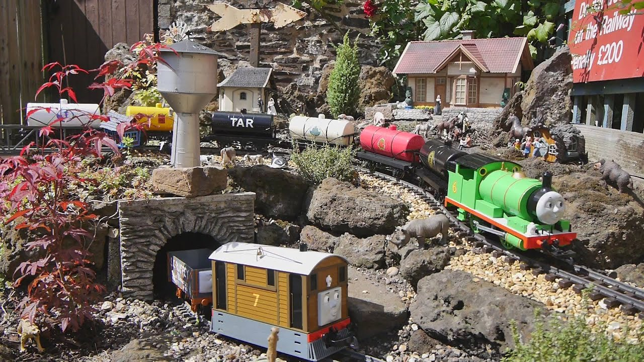 Bachmann Large G Scale Thomas The Tank Engine Friends On Garden