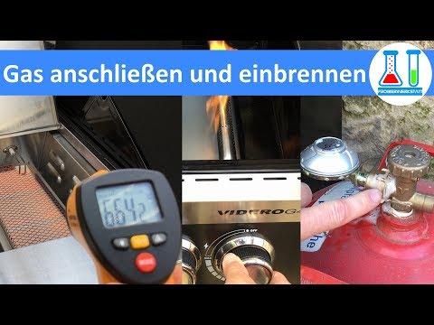 Aldi Gasgrill Plu 51274 : Gas flasche an gasgrill anschließen anleitung youtube