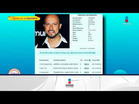 ¡Esteban Loiza, ex de Jenni Rivera detenido por posesión de drogas! | Sale el Sol