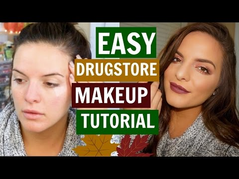 Fall Drugstore Makeup Tutorial | Easy To Create! | Casey Holmes