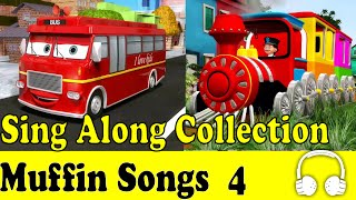 Wheels on the Bus & Muffin Songs Collection 4 - Children Nursery Rhymes