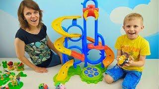 Download МАШИНКИ СБОРНИК для детей - Развивающие видео про Машинки для малышей. Носики Курносики Mp3 and Videos