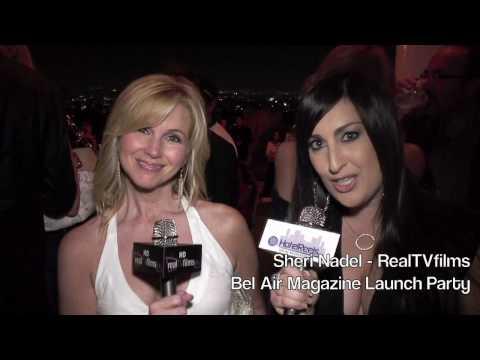 Suzanne Sena, Bel Air Magazine Launch Party, RealTVfilms