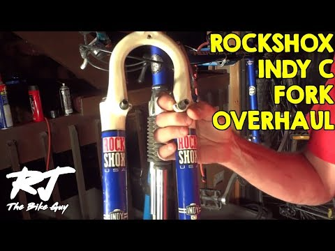 RockShox Indy C Fork Service - Disassembly/Clean/Lube/Assembly