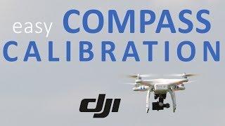 #9 DJI Phantom Tutorial - Easily calibrate the compass