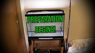 20 Gallon High Aquascape Preparation