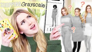 Buying Outfits With The Grayscale Filter On !! *what will we get?!*