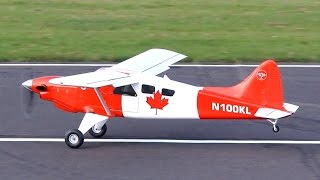 DHC-2 BEAVER SCALE 1:4 TURBOPROP ENGINE POWERED MODEL AIRCRAFT / Jetpower Messe 2015