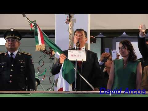 Ceremonia del Grito de Independencia - 4K - UHD - Ecatepec