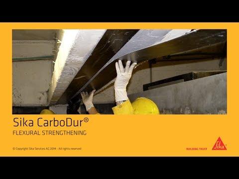 Sika CarboDur® - FLEXURAL STRENGTHENING