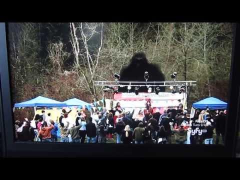 Alice Cooper cameo on SYFY original movie Bigfoot