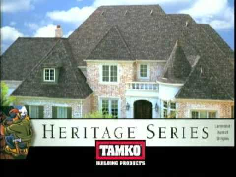 Tamko Heritage Shingle Installation Application Instructions   YouTube