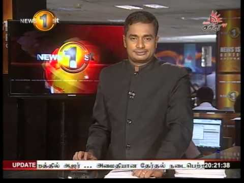 News 1st Prime time 8PM Shakthi TV news 19th August 2015