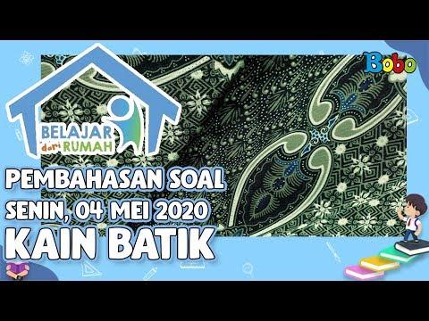 pembahasan-soal-tvri-smp---senin-4-mei-2020---kain-batik-#belajardarirumah