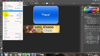 How to Create a Signature for Supercell forums or Clash of Clans (Photoshop Tutorial)