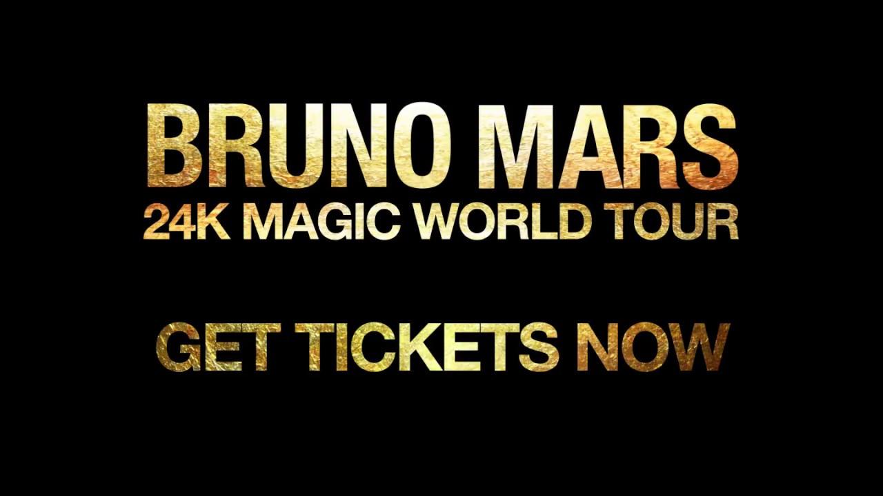 When Is Bruno Mars Next Tour