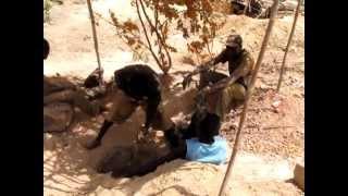 Afrique mine orpailleur