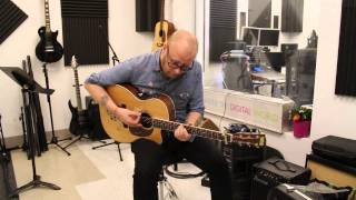 "Mike Doughty Performs ""Circles"" Acoustic for A-Sides"