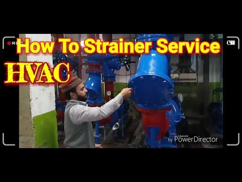 How To strainer  Service OF Cooling Tower LIne ( कूलिंग टॉवर लाइन स्ट्रेनर सेवा कैसे करें)HVAC