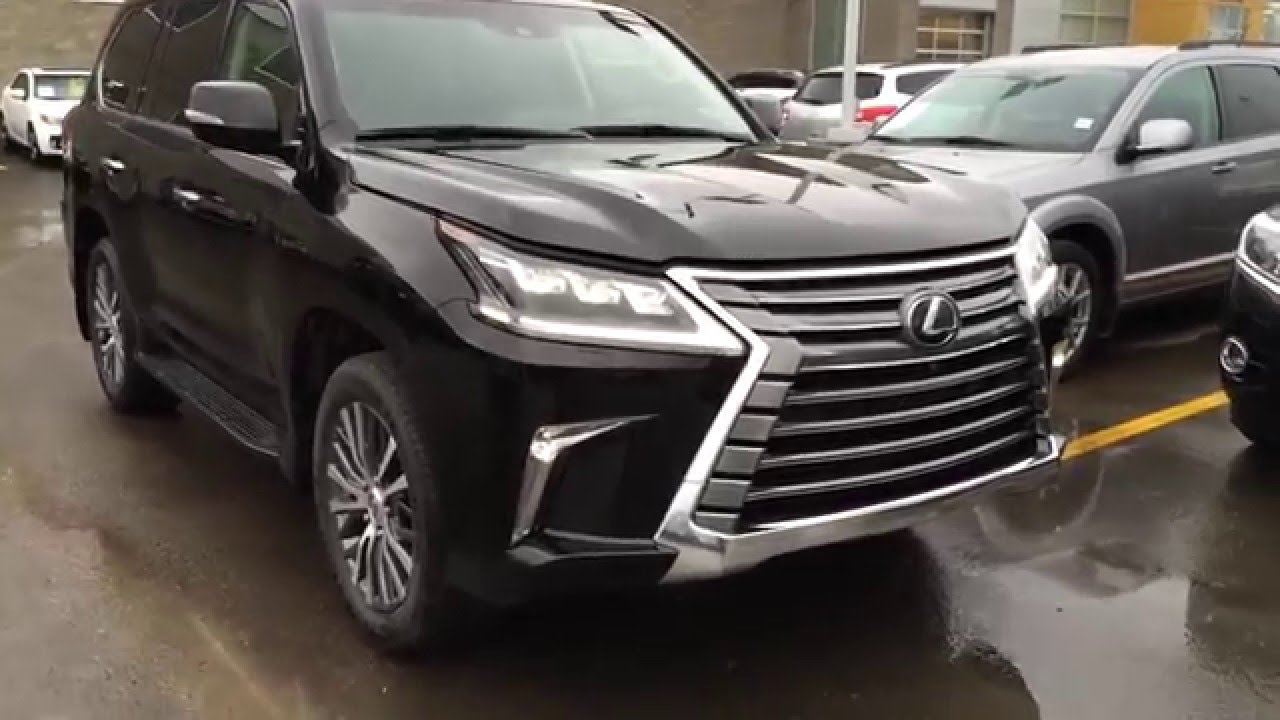 2016 Lexus LX 570 Review Car And Driver