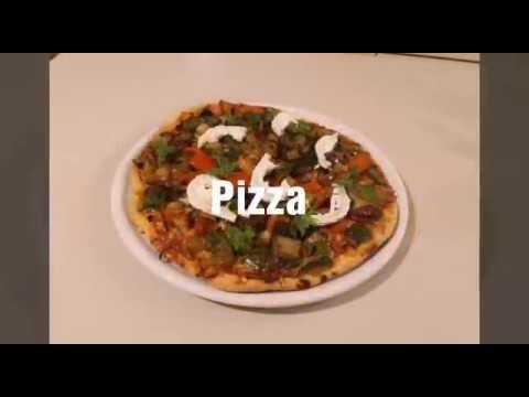 pizza-courgette,-poivron-et-aubergine-بيتزا-بالخضر