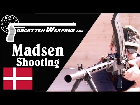 Shooting the Madsen LMG - The First True LMG