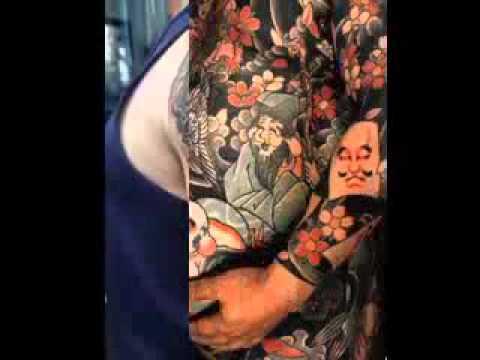 Tattoo Brazo Hombre Japones diseño del tatuaje japonés para los hombres - youtube