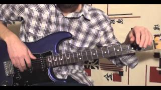 Уроки игры на гитаре.Как играть Скайфол на гитаре (play guitar skyfall adele)