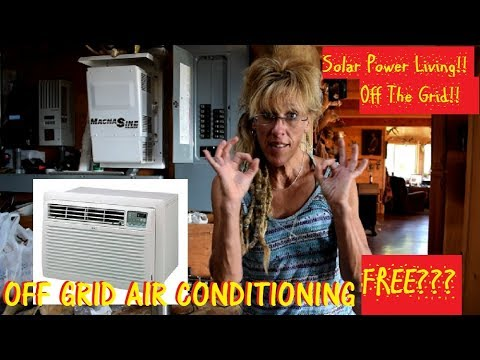 Off Grid Solar Air Conditioning:THE REAL TRUTH AND ITS FREE!