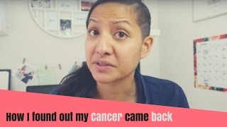 How I Found Out my Cancer Came Back | Metastatic Breast Cancer