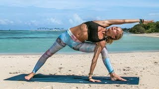 Ultimate Yoga Workout ♥ Astanga Inspired Intermediate Class| Maldives