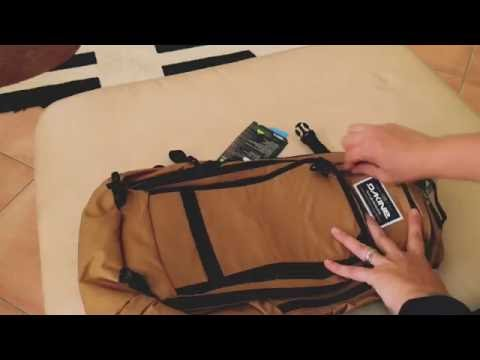 Unboxing Dakine Nomad 18L hydration pack (shot with iPhone 6S)