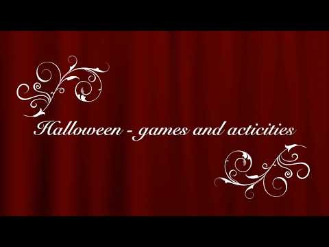 Halloween spooky ESL games and activities - Preview for my latest teaching resources