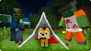 Вулфи жив? [ЧАСТЬ 29] Зомби апокалипсис в майнкрафт! - (Minecraft - Сериал)