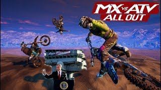 MX VS ATV ALL OUT   THEY FIXED IT?!?   RONRON DLC