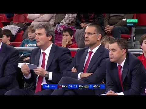 ACB J8/ BASKONIA vs JOVENTUT (2) ALLSPORTS