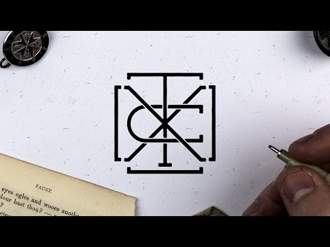 Adobe Illustrator CC | How To Make Vintage Monograms
