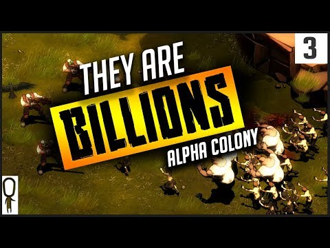 HOLD THE DOOR - They Are BILLIONS Gameplay Part 3 - City Builder Defense - Let's Play Walkthrough
